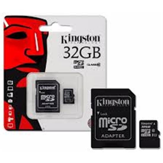 TARJETA MICROSD KINGSTON SDC10G232GB 32GB MICROSDHC CLASS10