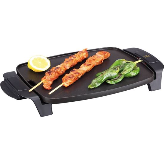 Plancha cocina Jata GR205, 1000w, 28X22, antiadhe