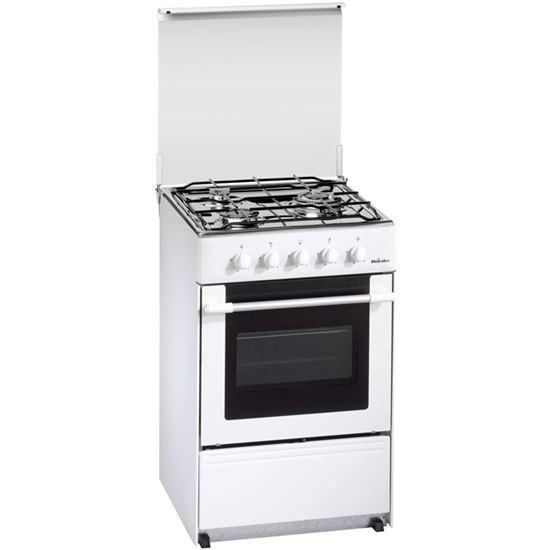 Cocina conv. Meireles G1530DVWBUT, 3 fuegos, but