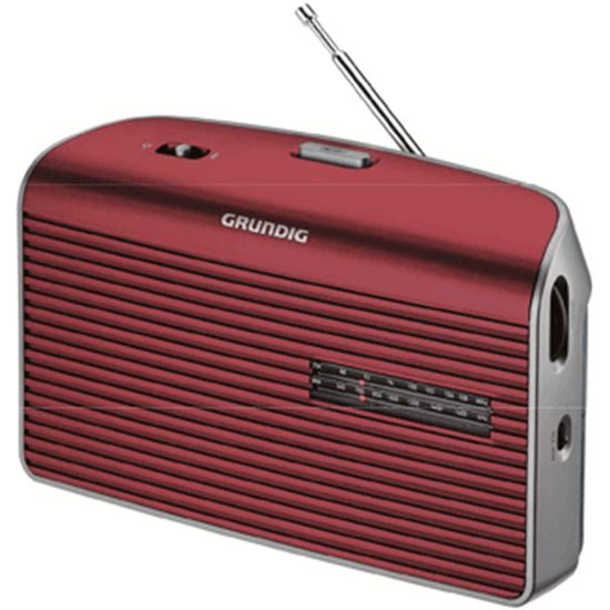 Radio portatil Grundig GRN1540, MUSIC60RED