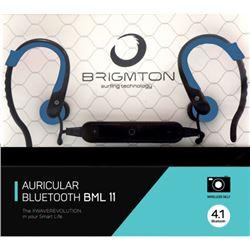 Auriculares brigmton bml-11 bluetooth sport az