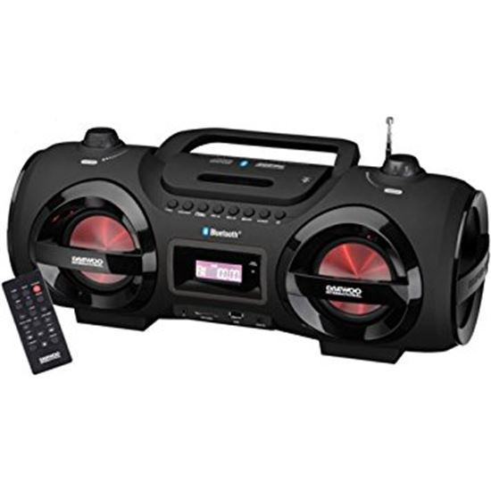 Radio cd DAEWOO DBU58 reproductor cd/cd-rw/mp3 blu