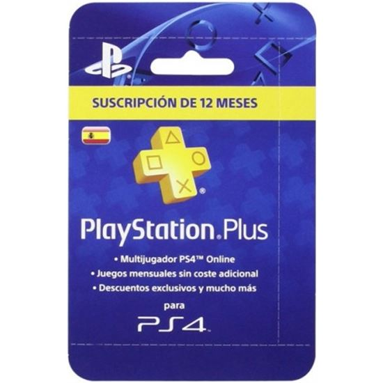 PlayStation Plus Card per a 365 Dies/Spa