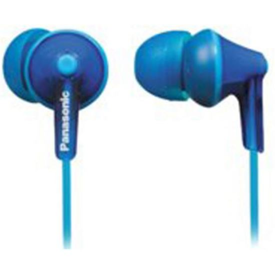 Auricular de tapon Panasonic RPHJE125EA Azul