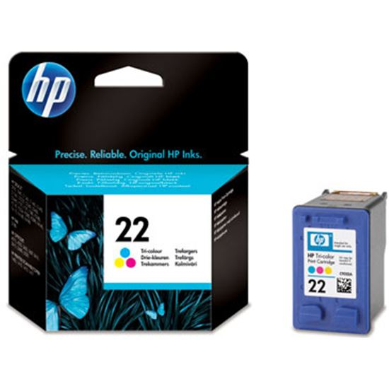 Tinta Nº 22  HP C9352E, 5ml, color