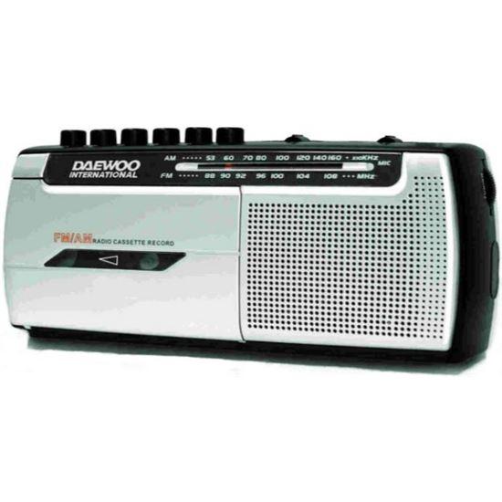 RADIO CASSETTE 219346 GRABADOR DRP107