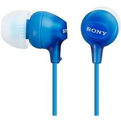 Auriculares sony mdr-ex15 lpl azul silicona intra