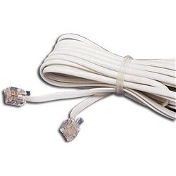 CABLE TELEFONO EDC RJ-11 5,4 METROS BLANCO 01-0385