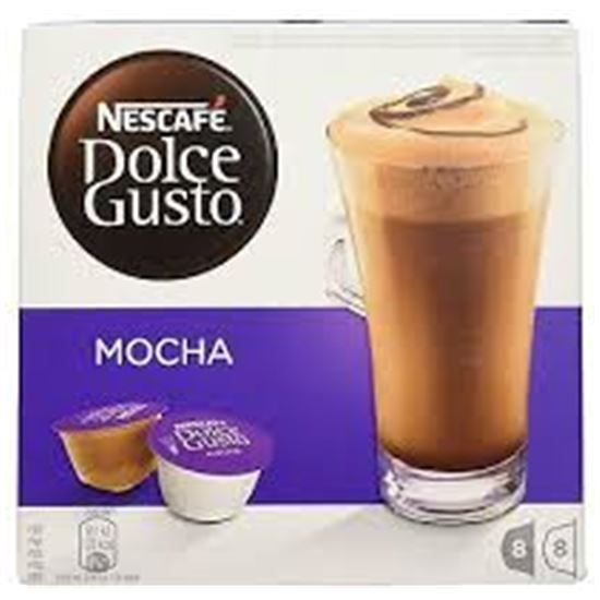 Cafe MOCHA (MOKA) DOLCE GUSTO 12120147 combinado