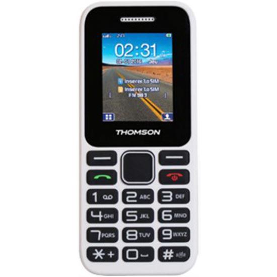 TELEFONO LIBRE THOMSON TLINK11W BLANCO DUAL SIM BLUETOOTH MICRO SD