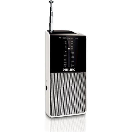 RADIO TRANSISTOR PHILIPS AE153000, bolsillo, mono, 2 bandas