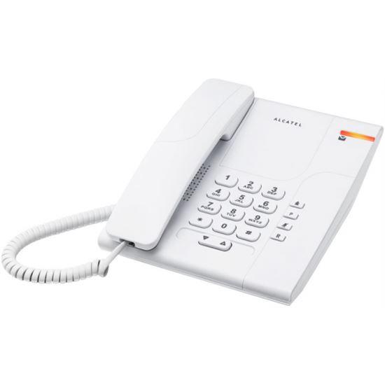 TELEFONO ALCATEL TEMPORIS T180 SOBREMESA BLANCO