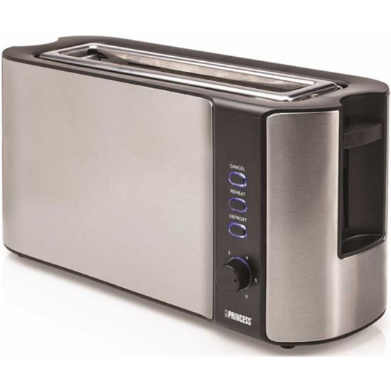 TOSTADORA PRINCESS 142353 INOXIDABLE 1000W