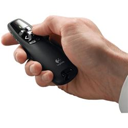 Control remoto Logitech Wireless Presenter R400, a