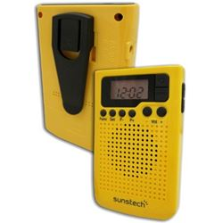 RADIO PORTATIL DIGITAL SUNSTECH RPDS10YL