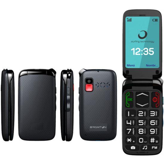 TELEFONO LIBRE BRIGMTON BTM-3 CONCHA RAD BLUETOOTH 221059