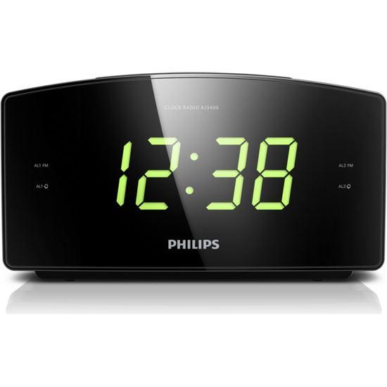 Radio reloj Philips AJ340012