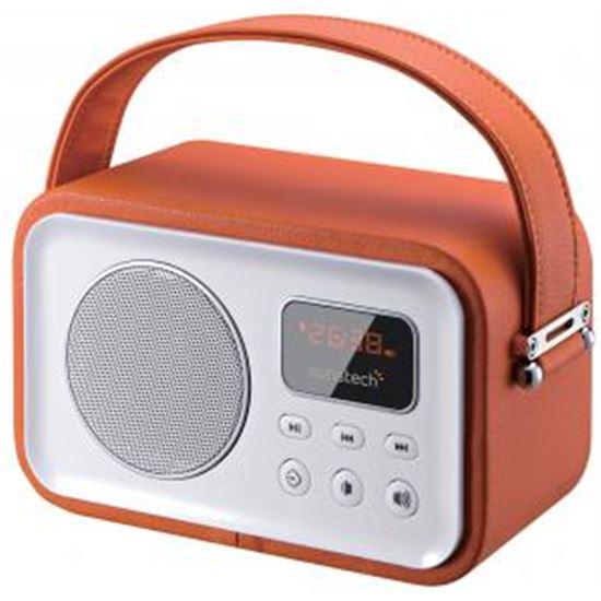 RADIO DIGITAL SUNSTECH RPBT450OR ORANGE