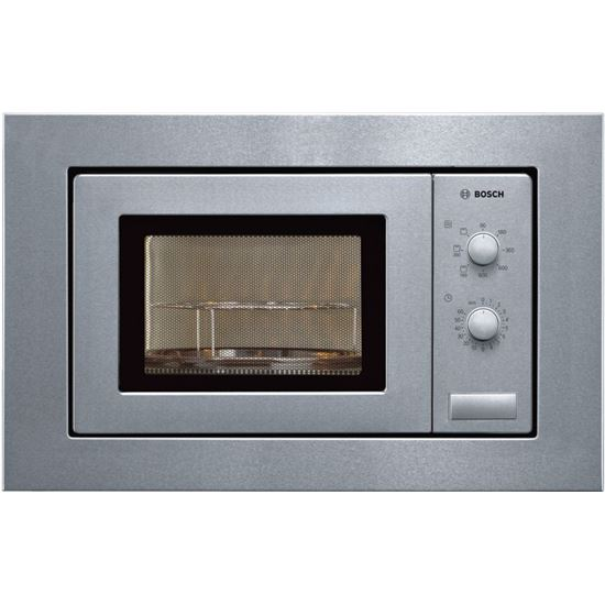 Microondas Bosch HMT72G650, 18L, 800w, grill, inoe