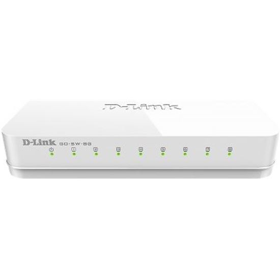 SWITH D-LINK GO-SW-8G 8 PUERTOS 1000MBPS