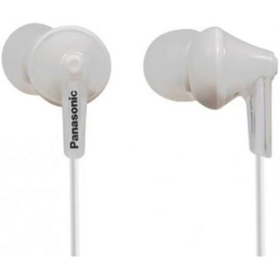 Auricular de tapon Panasonic RPHJE125EW Blanco