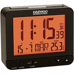 Reloj despertador DAEWO DCD200B, pantalla re