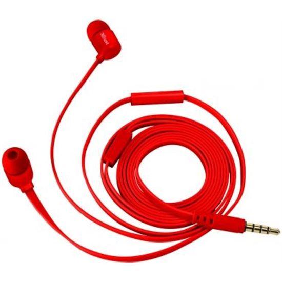 Auriculares Trust Duga Rojos