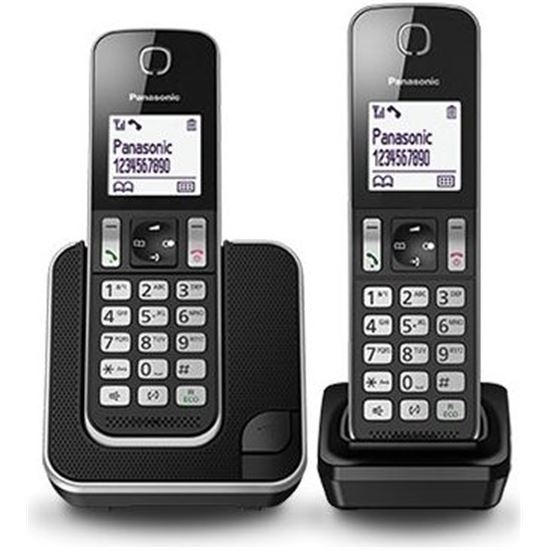 TELEFONO DUO PANASONIC KXTGS312SPB NEGRO