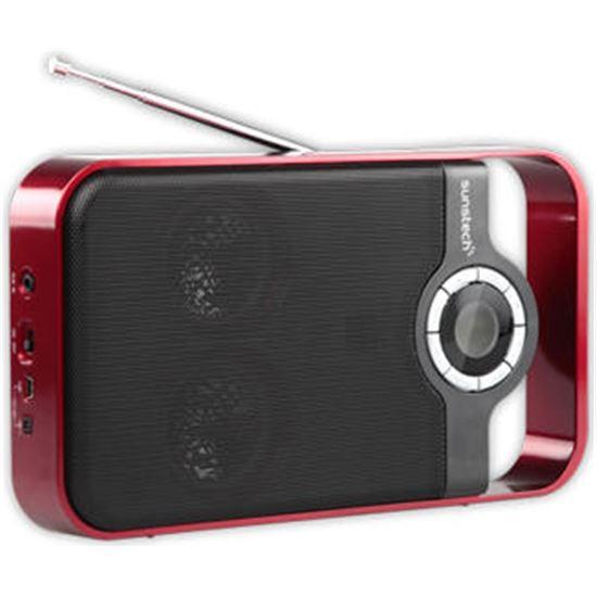 Radio portatil Digital Sunstech RPDS250RD