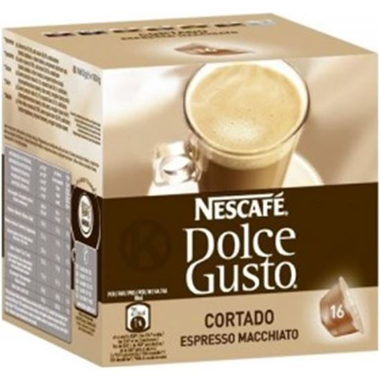 CAFE DOLCE GUSTO 12092336 cortado 16 capsulas