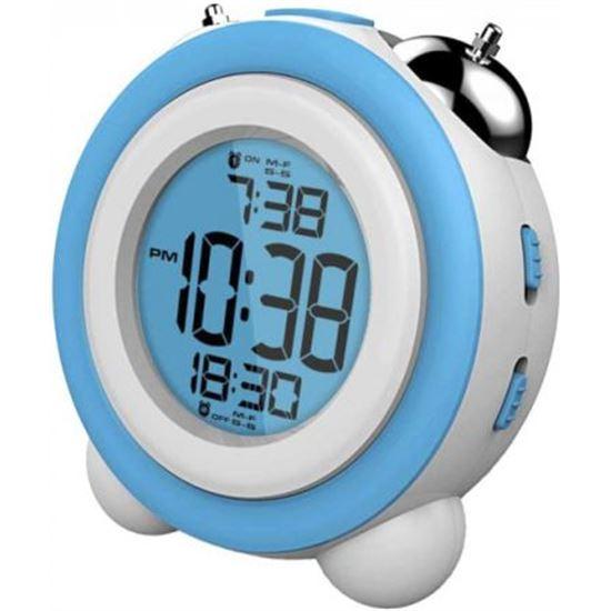 Reloj despertador DAEWO DCD220BL, Pantalla retroiluminada, Alarma con soni