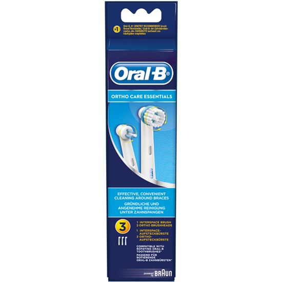 Recambio cepillo dental Braun Ortho kit