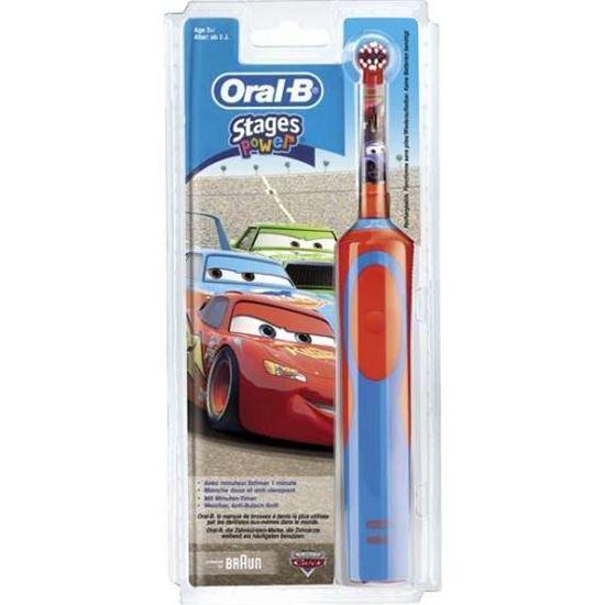 Cepillo dental Infantil Braun  D12 Vitality cars