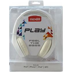 AURICULARES MAXELL MXH-HP500 WH WHITE 96 Db 32 Ohm