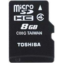 TARJETA MICRO SD TOSHIBA THNM102K0080M2 8 GB CLASS 4