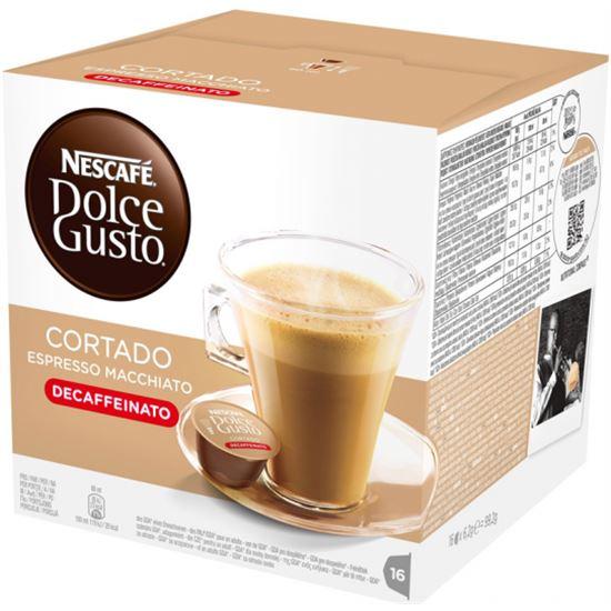 Cafe CORTADO DESCAFEINADO DOLCE GUSTO 12213078, 16