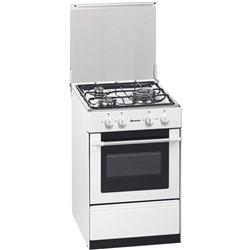 Cocina conv. Meireles G1530DVWNAT, 3 fuegos, nat