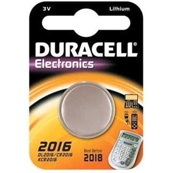 Pilas Duracell 2016-, CR2016, litio, 3V, reloj, ca