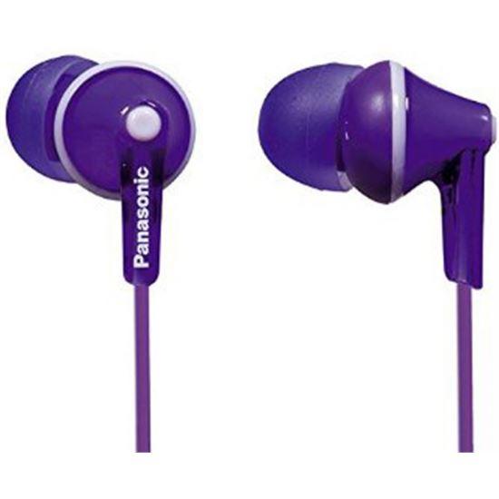 Auricular de tapon Panasonic RPHJE125EV Violeta