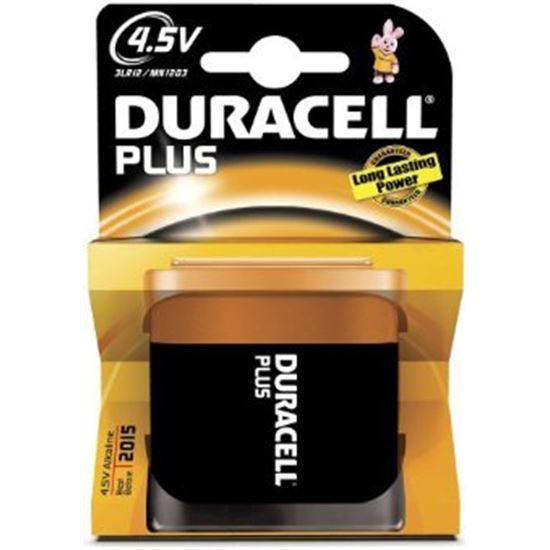 Pilas Duracell PLUSMN1203K1, 3LR12, alcalina, 4,5V